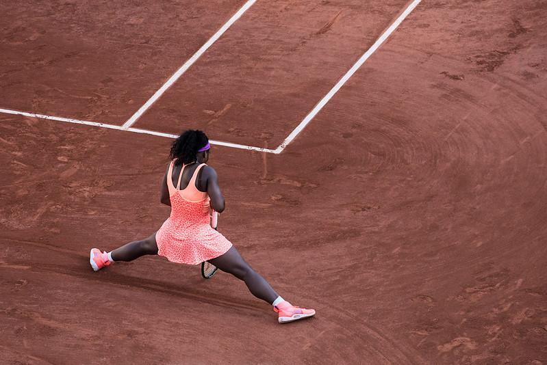 Serena en équilibre
