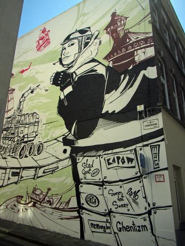 dieselpunk graffiti