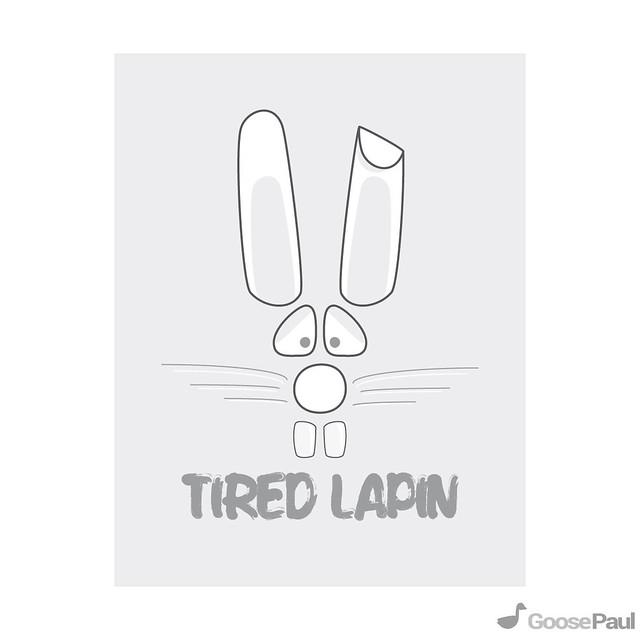illustrator rabbit minimal