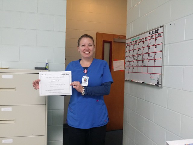 Corizon Health social worker achieves mental health certification in Florida