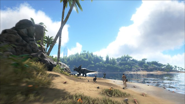ARK: Survival Evolved on PS4, Project Morpheus