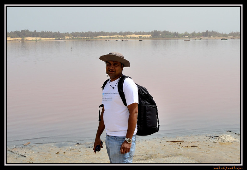 At Lac Rose - Pink Lake