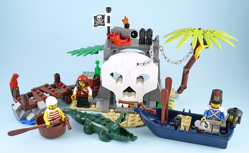 LEGO Pirates 70411 Treasure Island 11