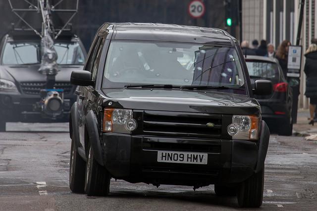 'London Has Fallen' stunt scenes filming in East London
