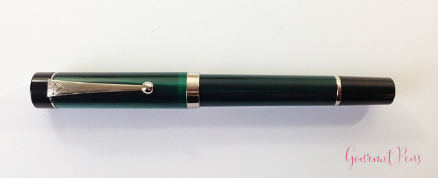 Review Visconti LE Classic Green Fountain Pen @CouronneDuComte (2)