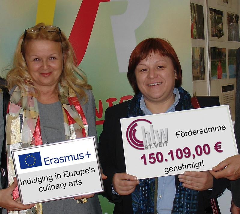 Erasmus Förderbetrag