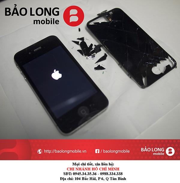 Thay màn hình iPhone 4s - Biện pháp khắc phục chuyện hư hỏng màu sắc sau khi thay