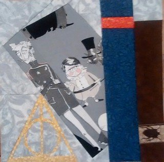 Quilt #5 Harry Potter dark arts Project of doom 2015