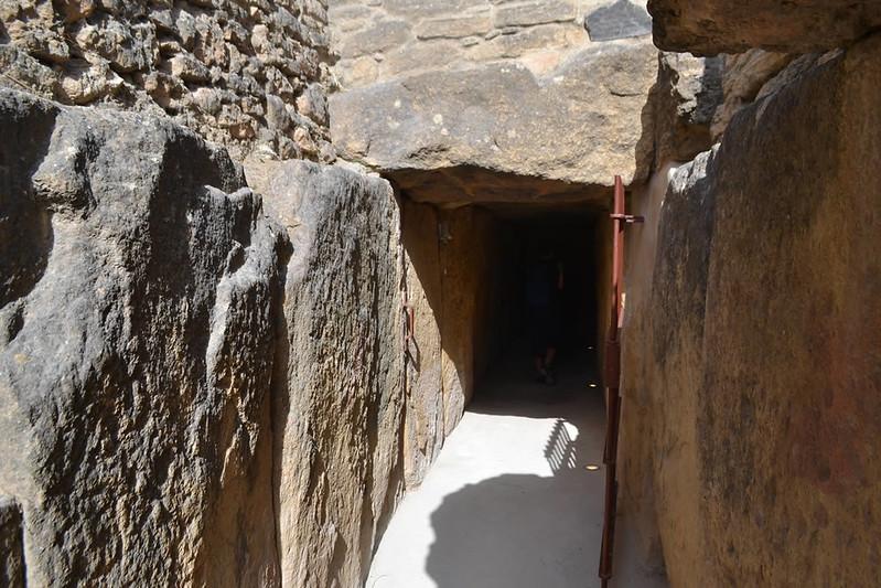 Acceso al dolmen de Viera