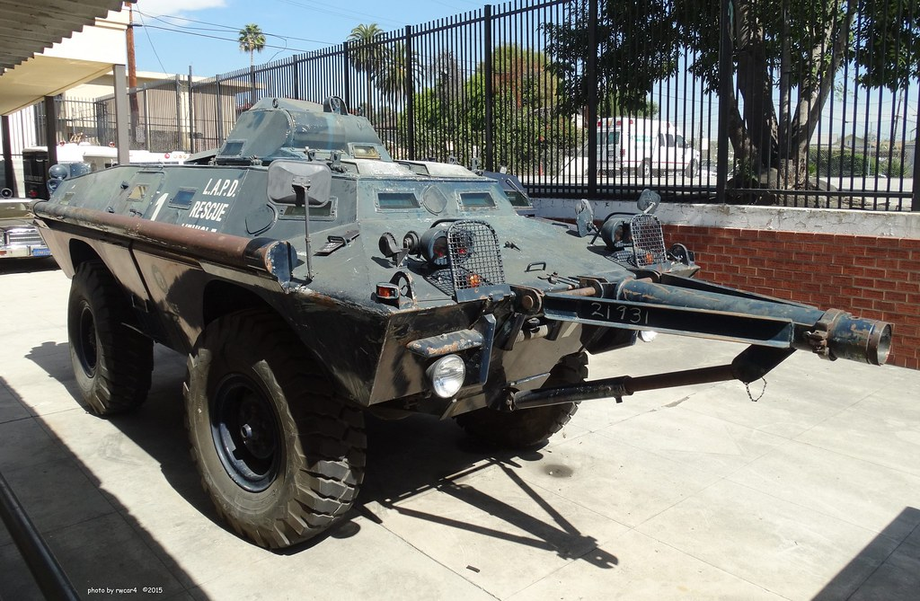 Lapd Cadillac Gage Commando V100 Armored Vehicle 1 Flickr