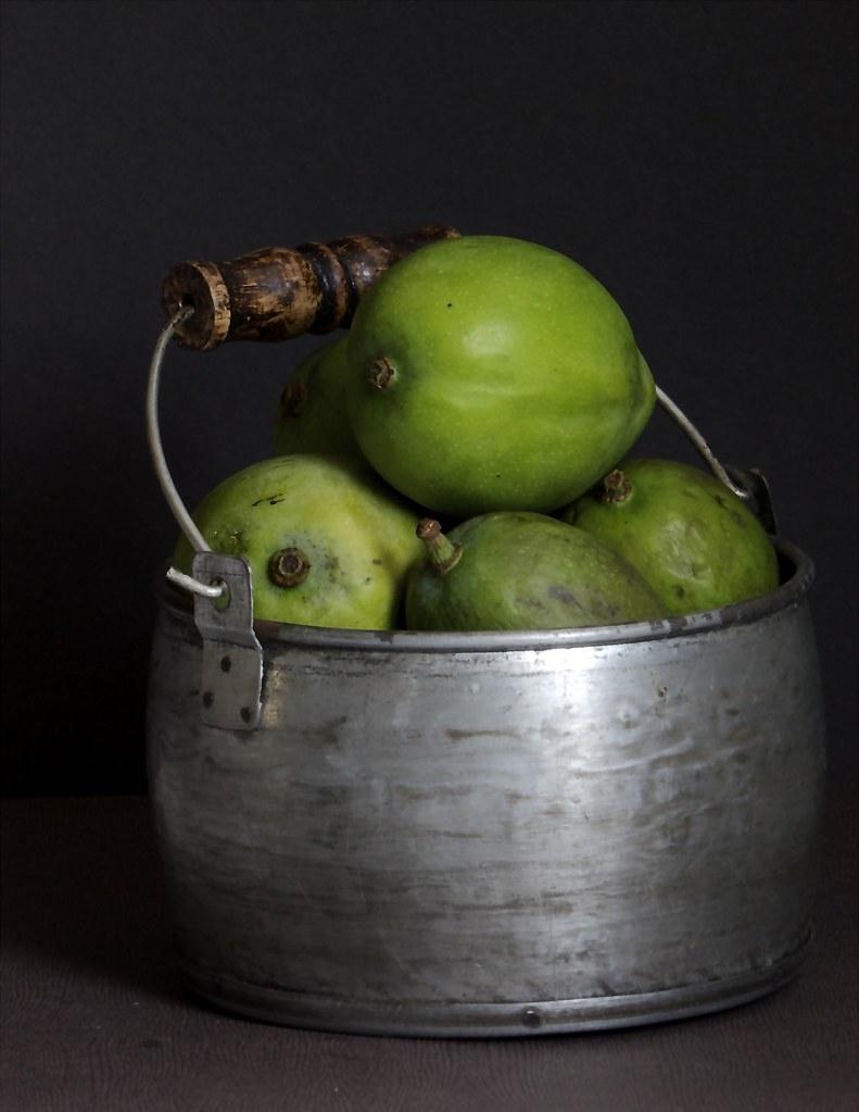 Maanga urgai   Raw Mango Pickle