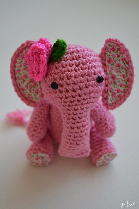 Amigurumi fil - Crochet elephant
