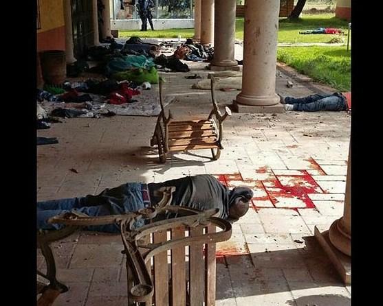Trasladan a Morelia cuerpos de sujetos caídos en balacera