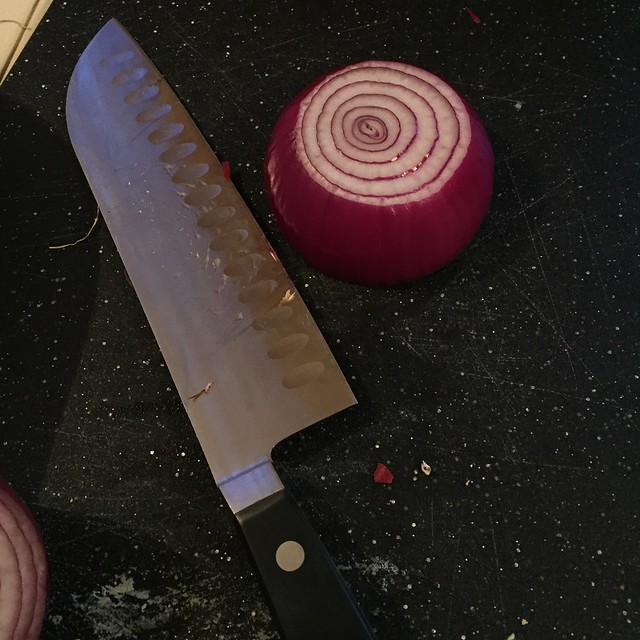 sharp knives