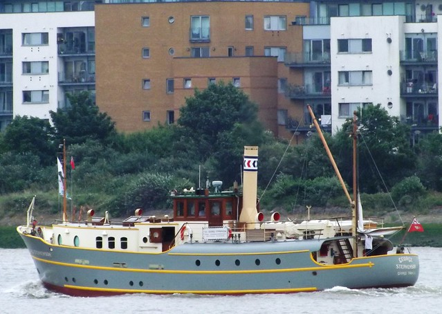 SS George Stephenson @ Gallions Reach 13-06-15
