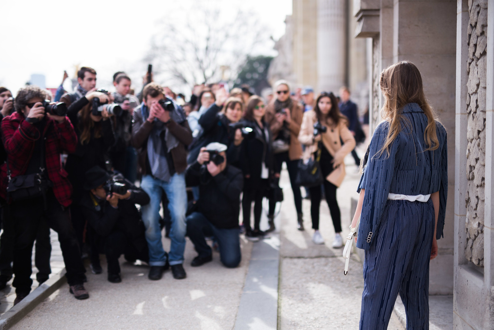 Street Style - Kristina Bazan, Paris Fashion Week