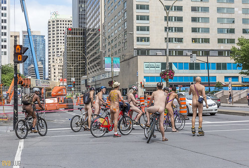 world naked bike ride montreal 14 | by Eva Blue