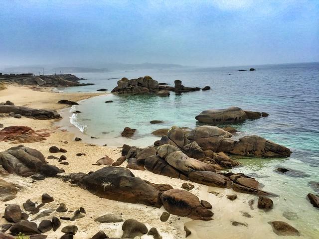 Praia Pedras Negras (San Vicente do Mar, Rías Baixas)