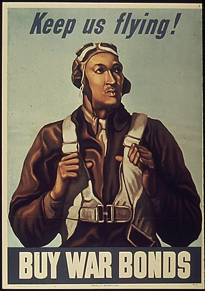 World War II Poster - Keep Us Flying