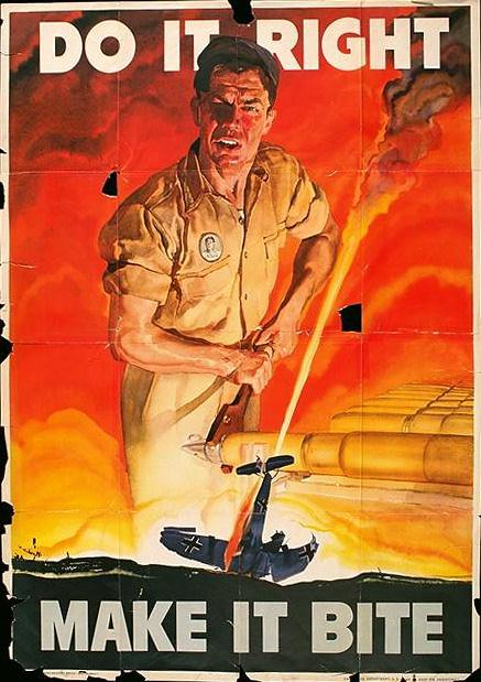 World War II Poster - Do It Right