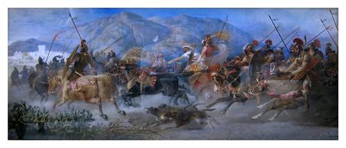 011-Jehu son of Nimshi on his way to Jezreel (1879)-E. H. Corbould-Via Victorian British Painting