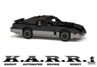 K.A.R.R. - Knight Industries Roving Robot (Knight Rider TV Series - 1984)