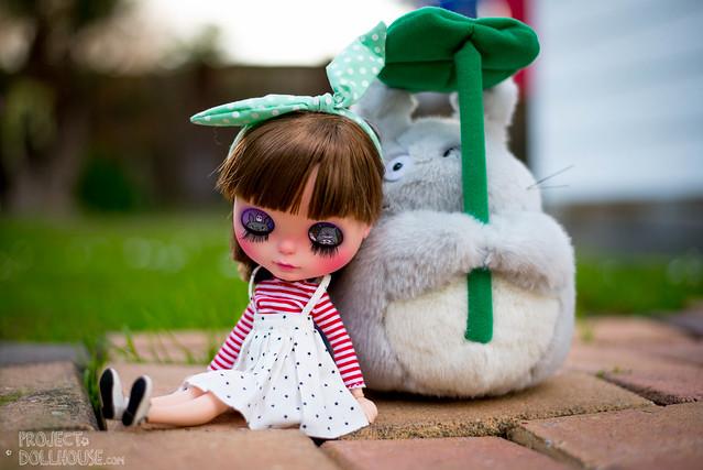 Nori & Her Friend Totoro