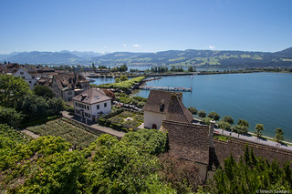 Rapperswil by the lake
