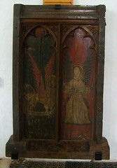 rood screen: St Mark and St Matthew