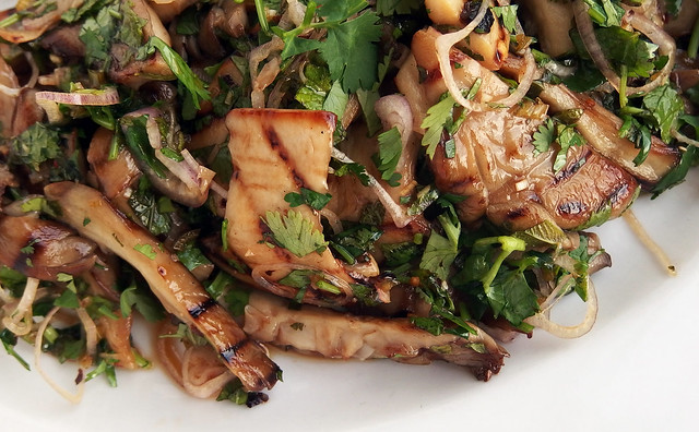 Thai Style Grilled Mushrooms