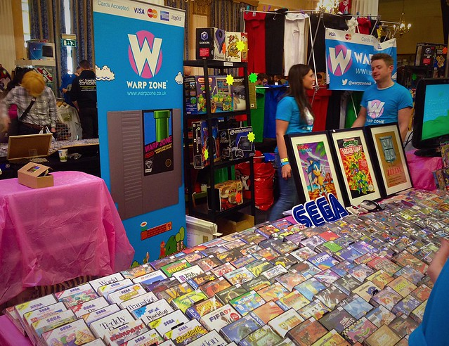 PLAT Blackpool Expo 2015 Warp Zone