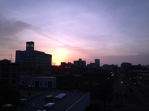Last Day of Bike to Work Week, Springfield Sunrise Coffee & Bicycle Club ride to Downtown Springfield