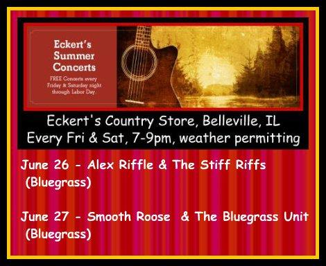 Eckert's Summer Concerts 6-26, 6-27-15