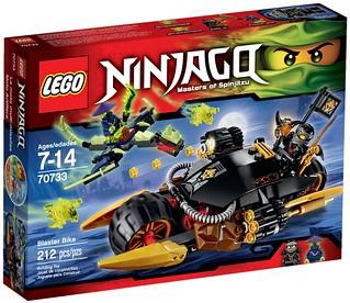 LEGO Ninjago 2015: 70733 - Blaster Bike