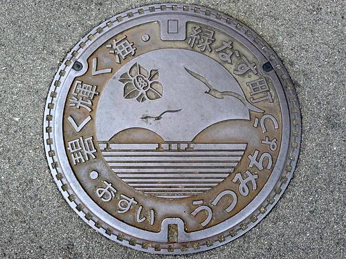 Utsumi Hiroshima, manhole cover (広島県内海町のマンホール)