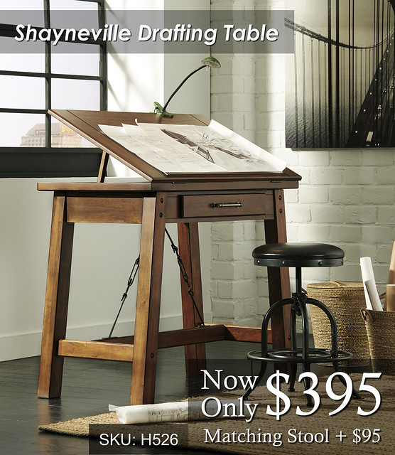 Shayneville Drafting Table H526