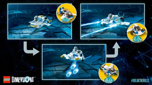 LEGO Dimensions Ninjago Zane Fun Pack (71217)