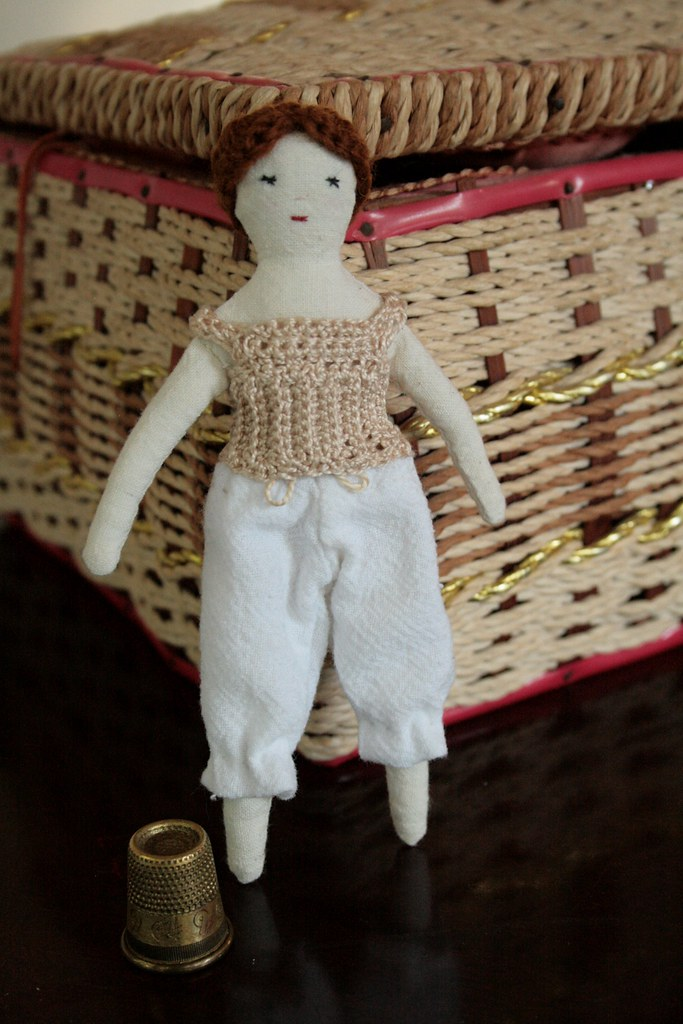 Meet Dolly Ive Been Watching Ann Woods Doll Pattern Prog Flickr