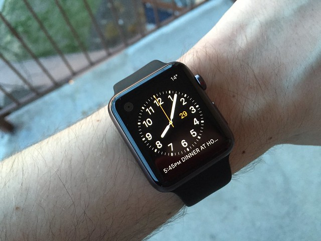 42mm Apple Watch Sport -- a clearer view of my arm