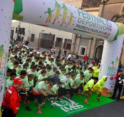 Festival Deportivo Padres e Hijos IMSS 2015