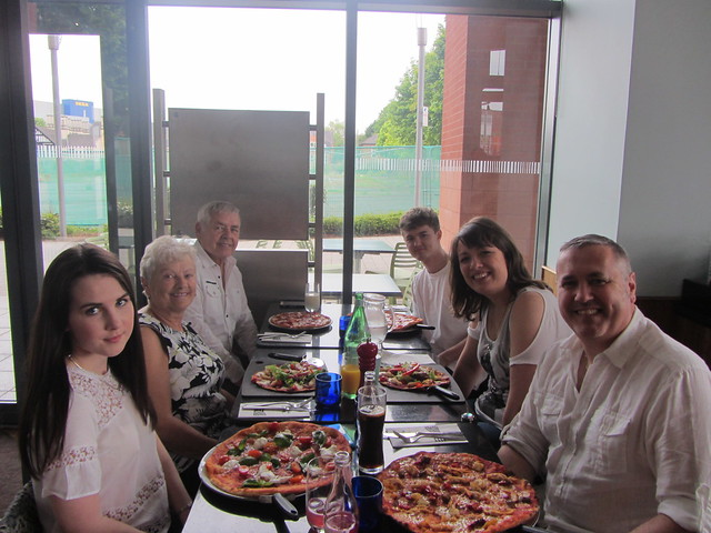Group Photo Pizza Express Coventry