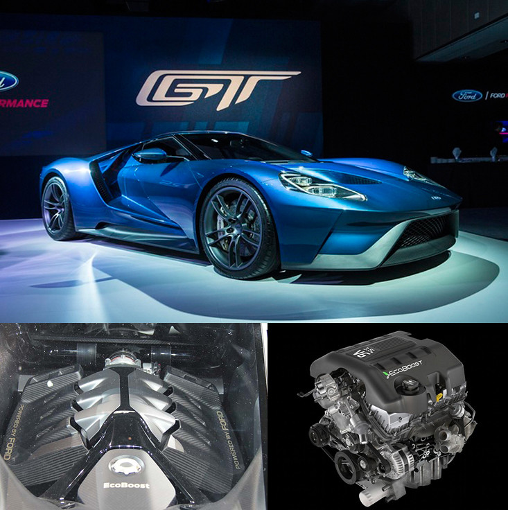 Fordenginesforsale A V Ecoboost Engine To Lead  Ford Gt Supercar By Fordenginesforsale