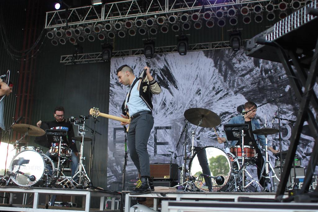 Bleachers at No Coast Festival