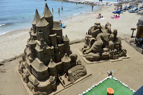 Impressive Sandcastles