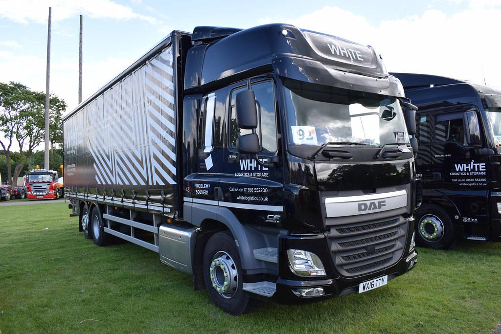 White Logistics & Storage DAF CF Super Space Cab WX16 TTY