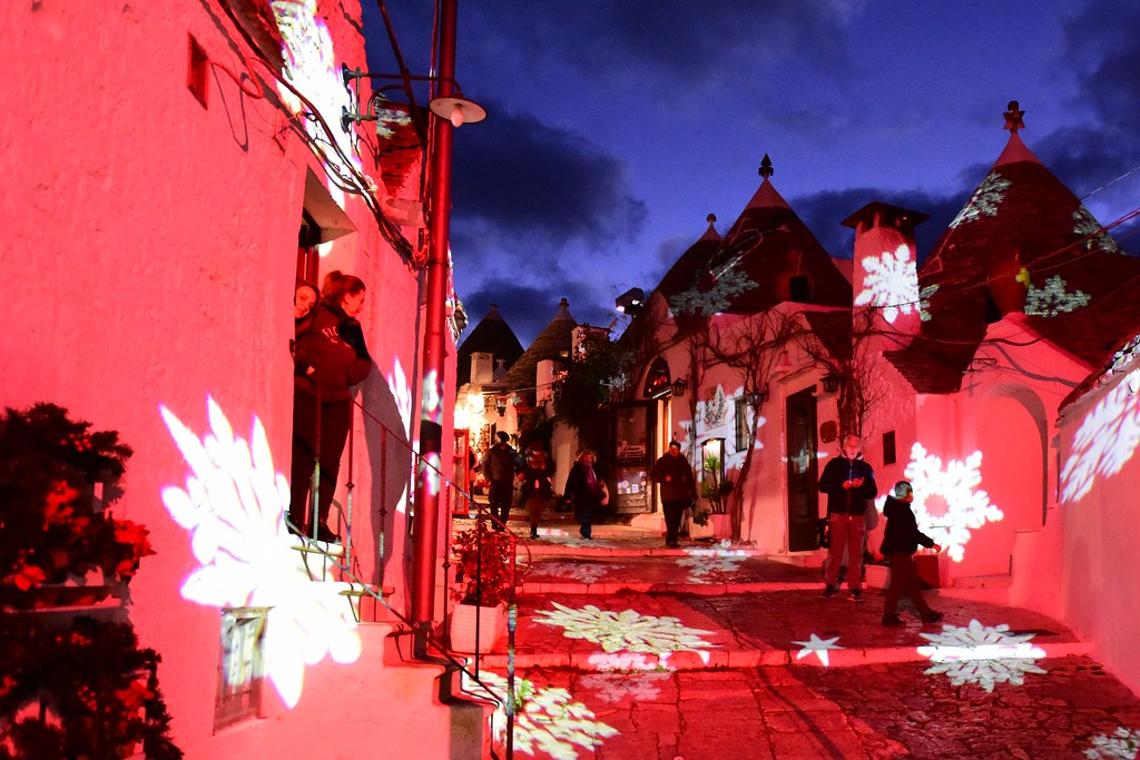 Alberobello light Festival, Puglia, Italy, January 2016 885