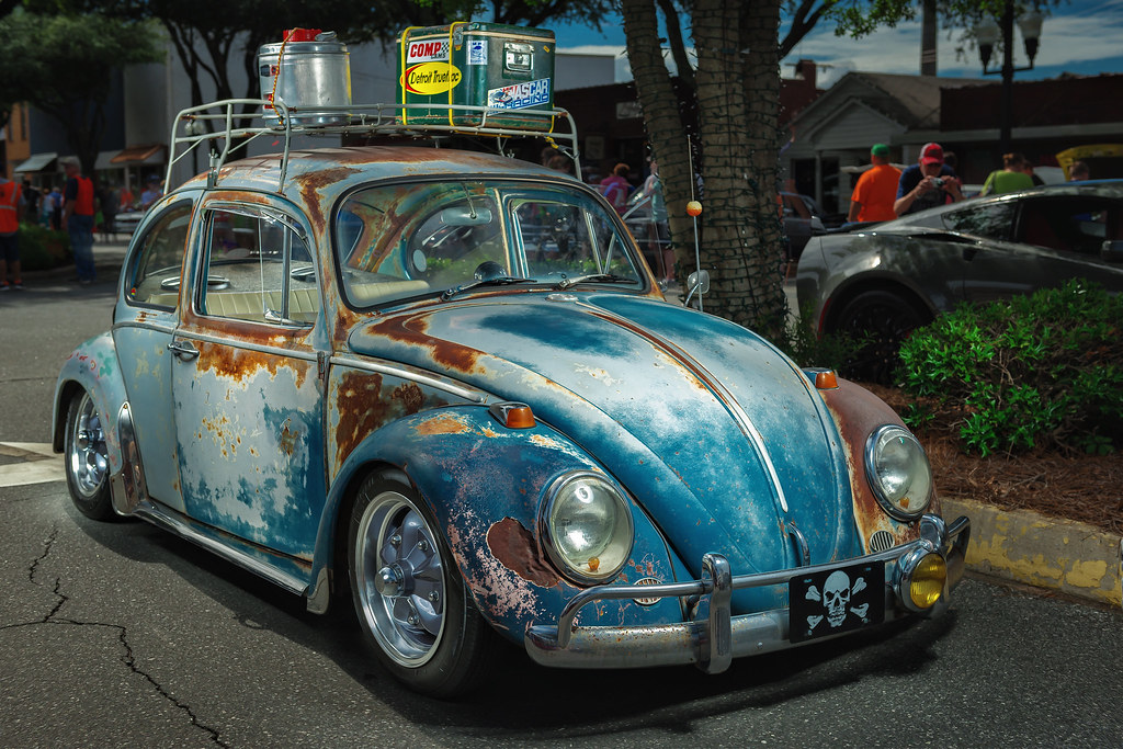 volkswagen beetle  hot nights cool rides forest flickr