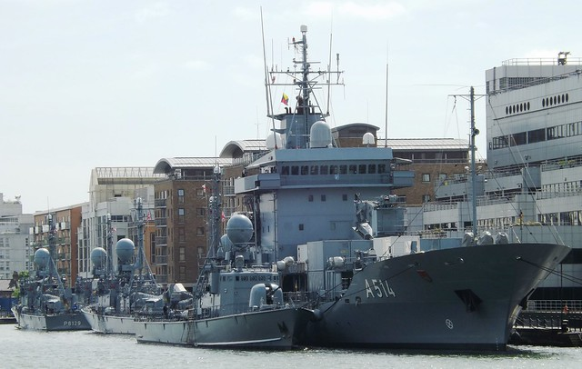 7th Fast Patrol Boat Squadron (3) @ West India Dock 10-05-15