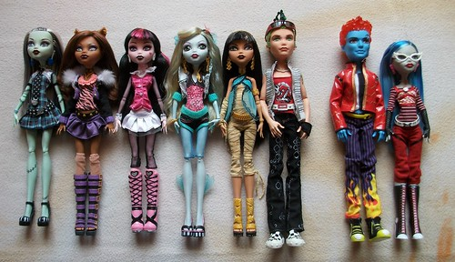 monster high basic collection wave 1 amp 15 as i got