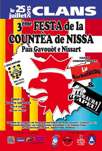 Affiche de la Festa de la Countéa de Nissa